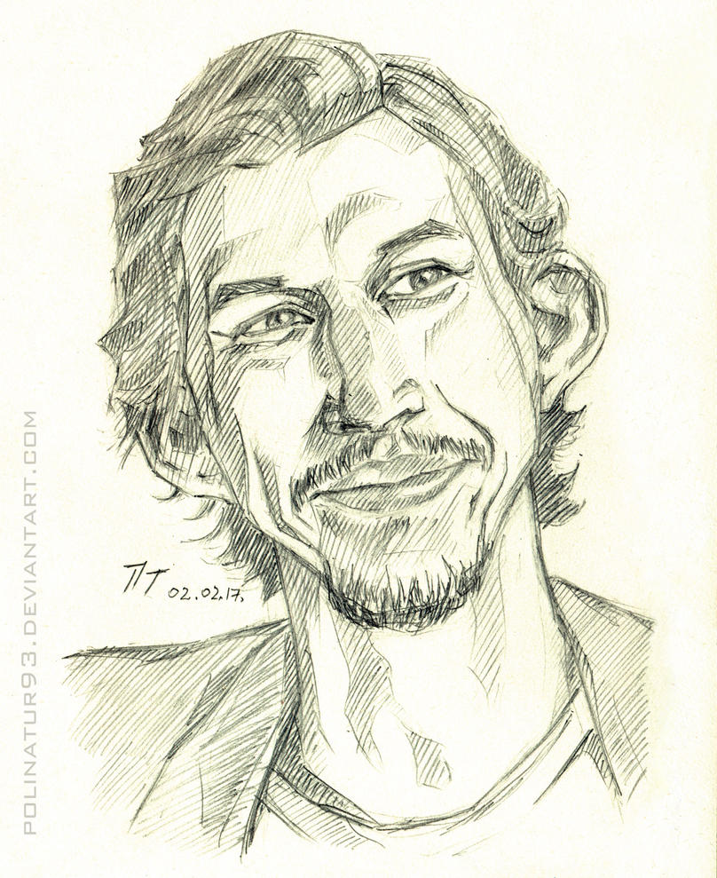 Adam Driver, sketch (2) by polinatur93