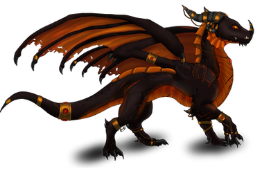 Black Dragoness by Aileara