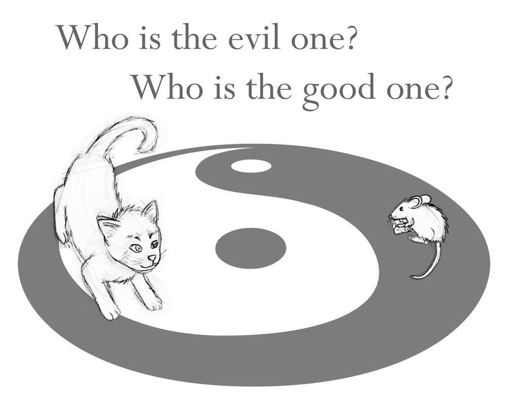 Who is the evil one? by ancode