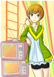 Persona 4 - Chie by ancode