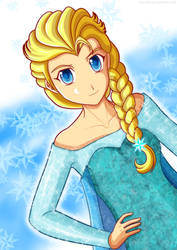 Frozen - Elsa by ancode