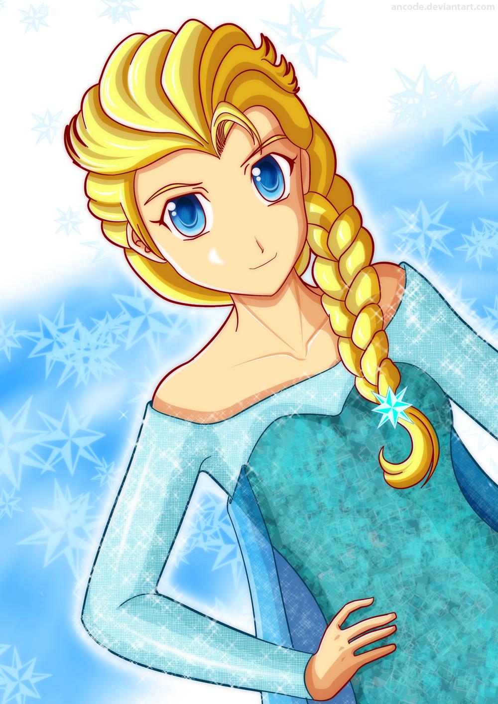 Frozen - Elsa by ancode