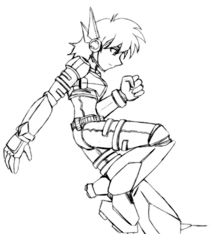 Doodling Time Female Reploid By Ancode On Deviantart