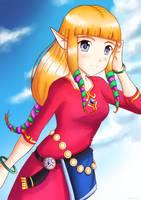 Sky Zelda by ancode