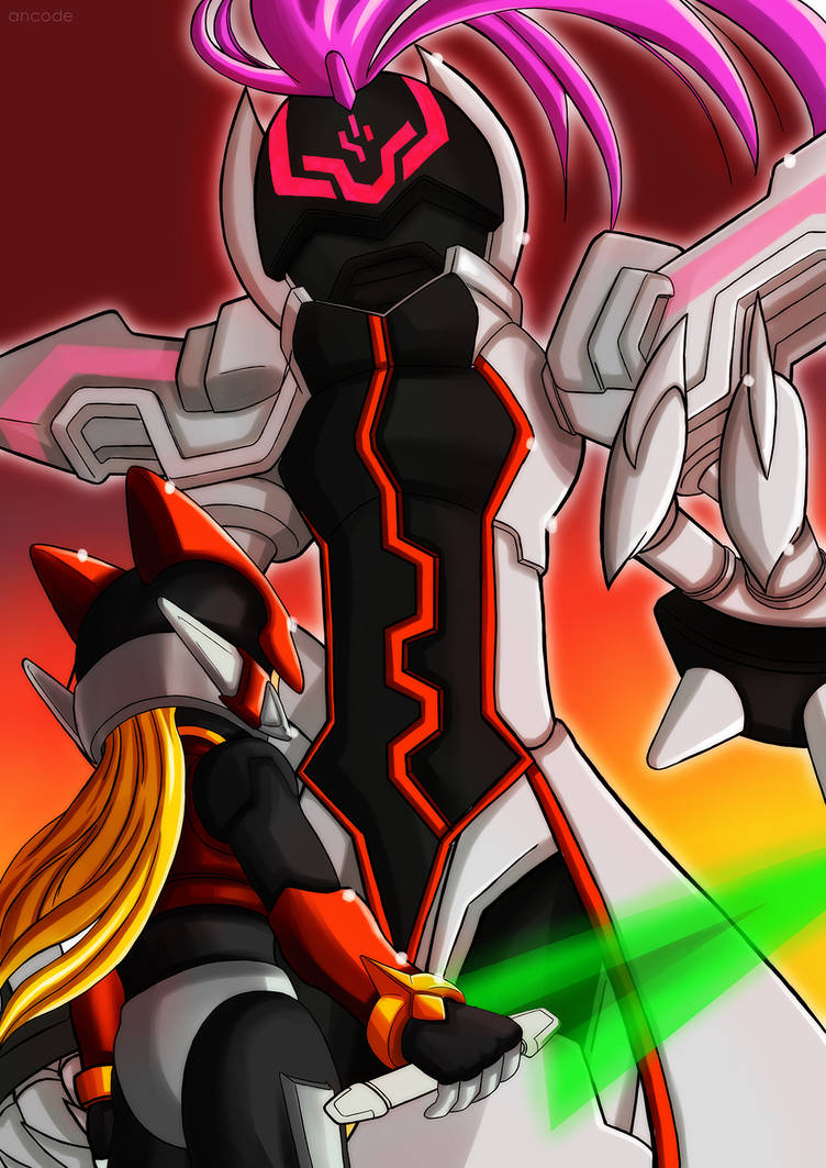 Zero vs Omega by ancode