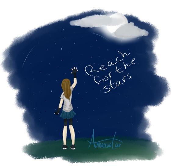 Reach for the stars by annaavatar