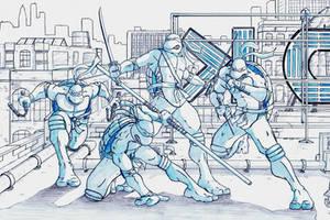 Teenage Mutant Ninja Turtles by DerekDwyer