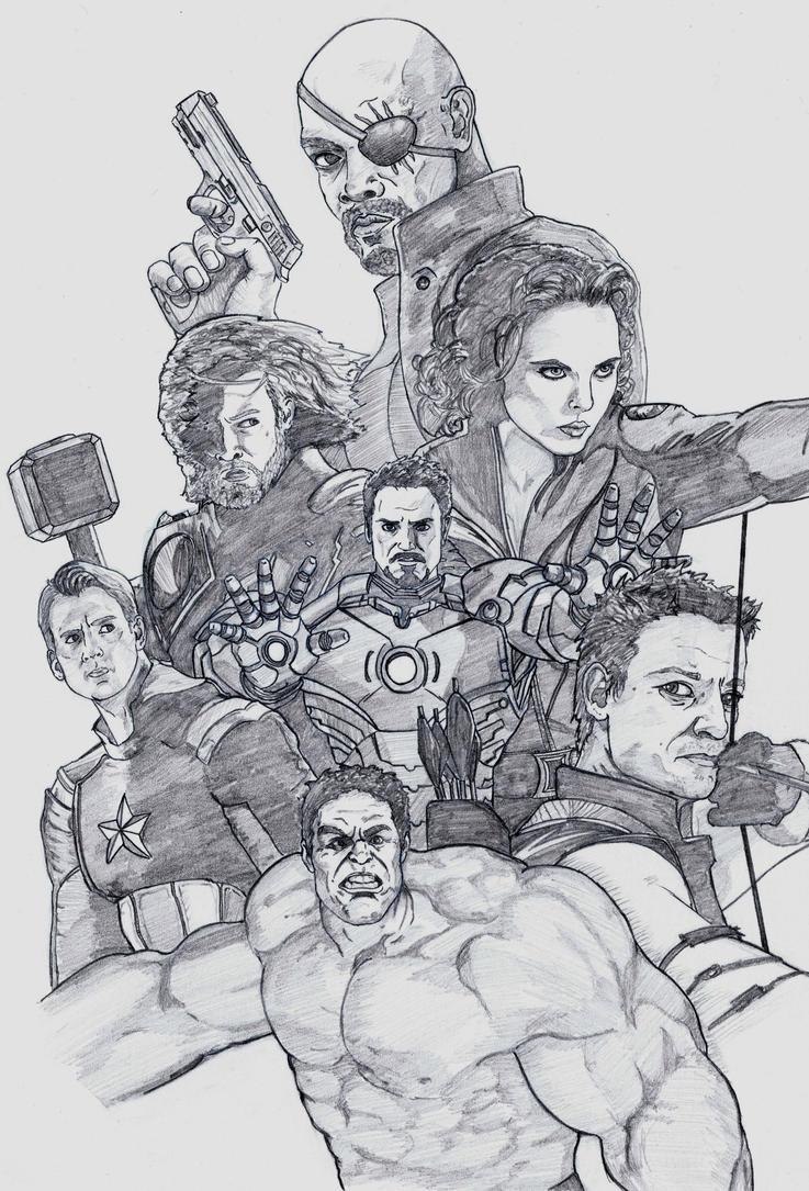 Avengers by DerekDwyer