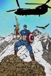 Captain America Colour