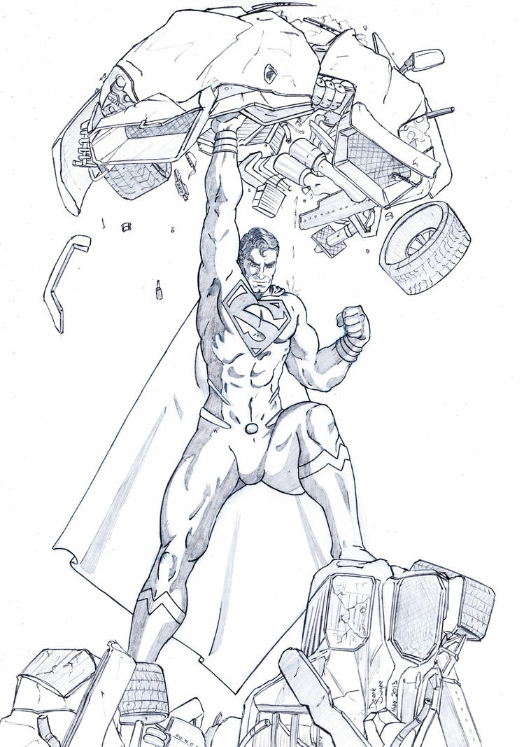 Superman - Man of Steel by DerekDwyer