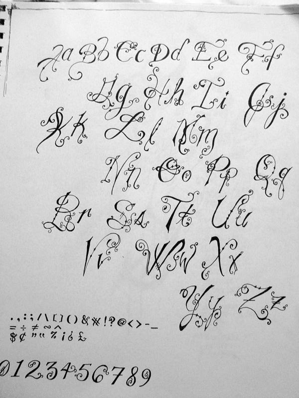 capricious alphabet by capricious