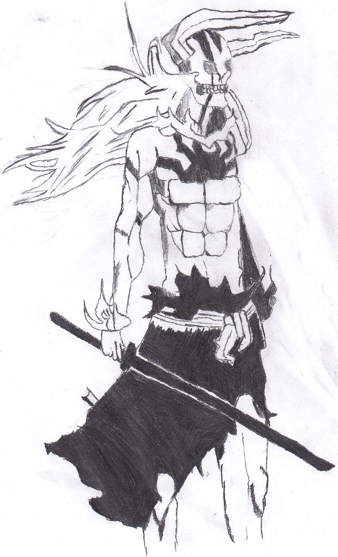 Hollow Ichigo Final Form by HellGlacier on DeviantArt