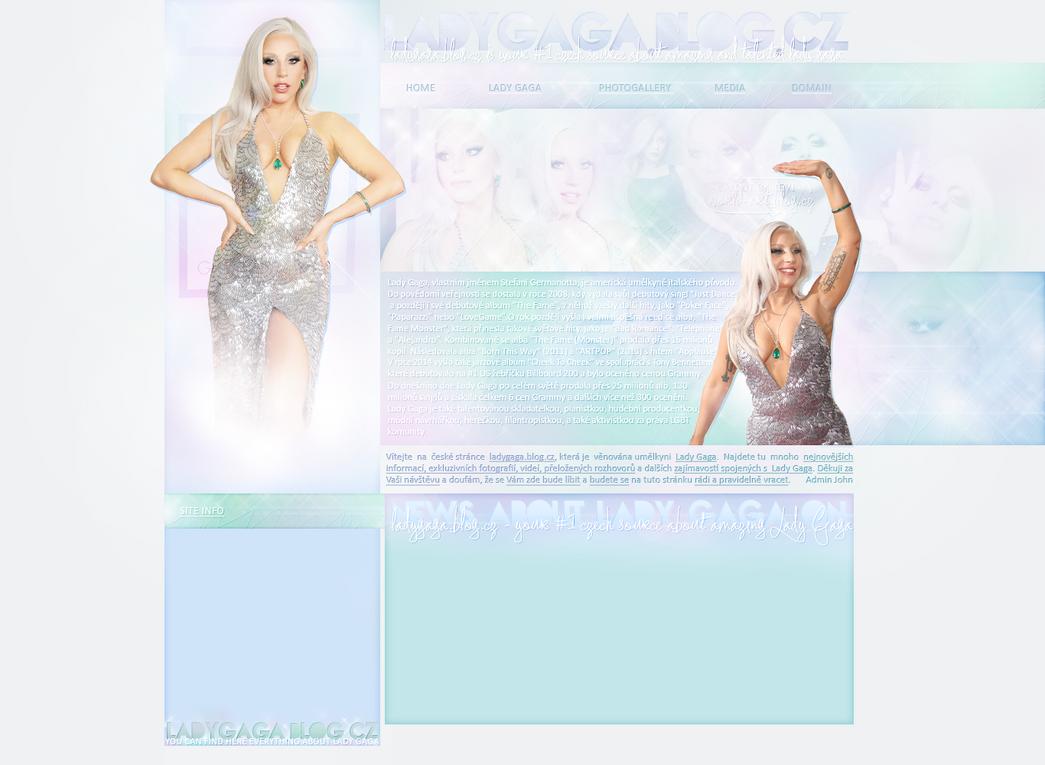 Ordered layout   Ladygaga.blog.cz by KeviWorldArt