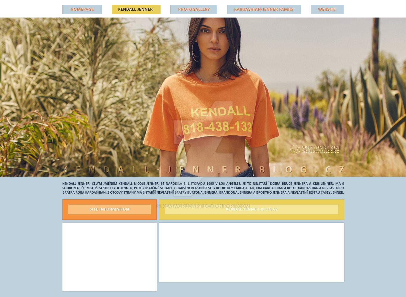 Free design | Kendall Jenner by KeviWorldArt