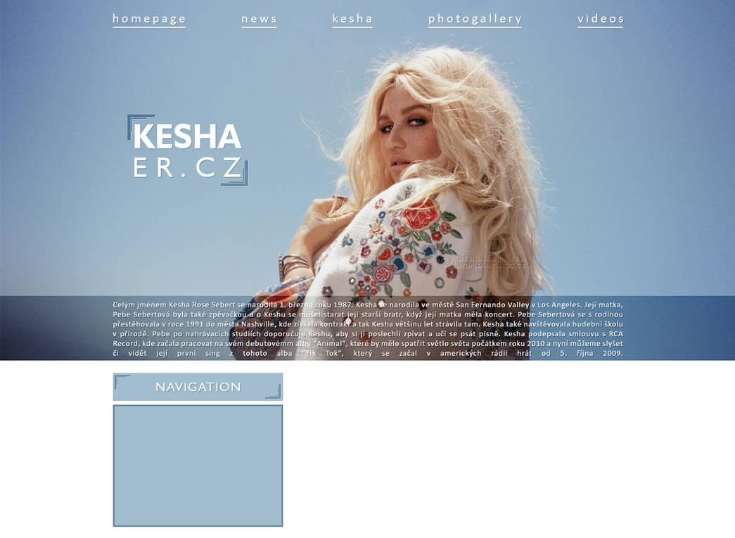 Ordered design   Kesha.er.cz by KeviWorldArt