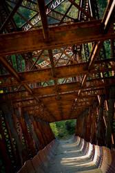 Rusty Bridge by snakstock