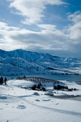 Lake Chelan Winter by snakstock
