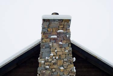 Winter Chimney II by snakstock