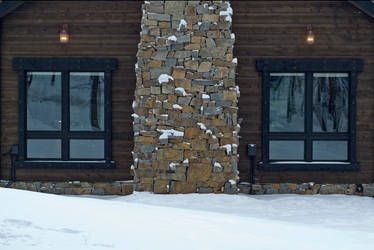 Winter Chimney III by snakstock