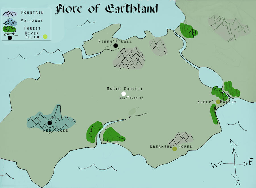 fairy tail map of fiore