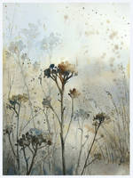 Winter's meadow by mashami