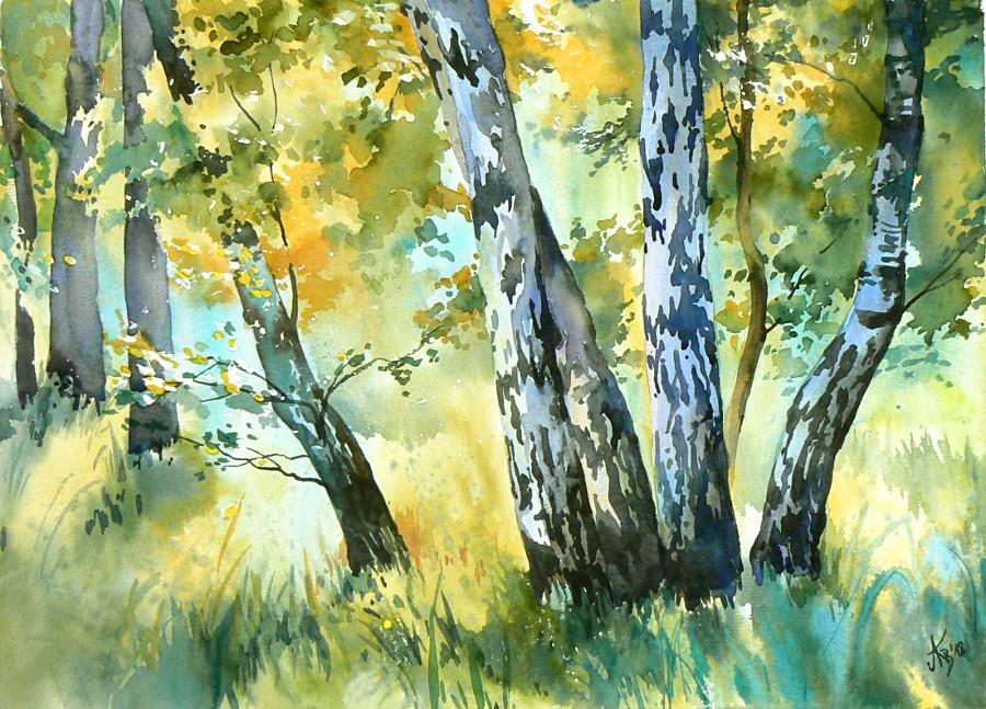 Birches by mashami
