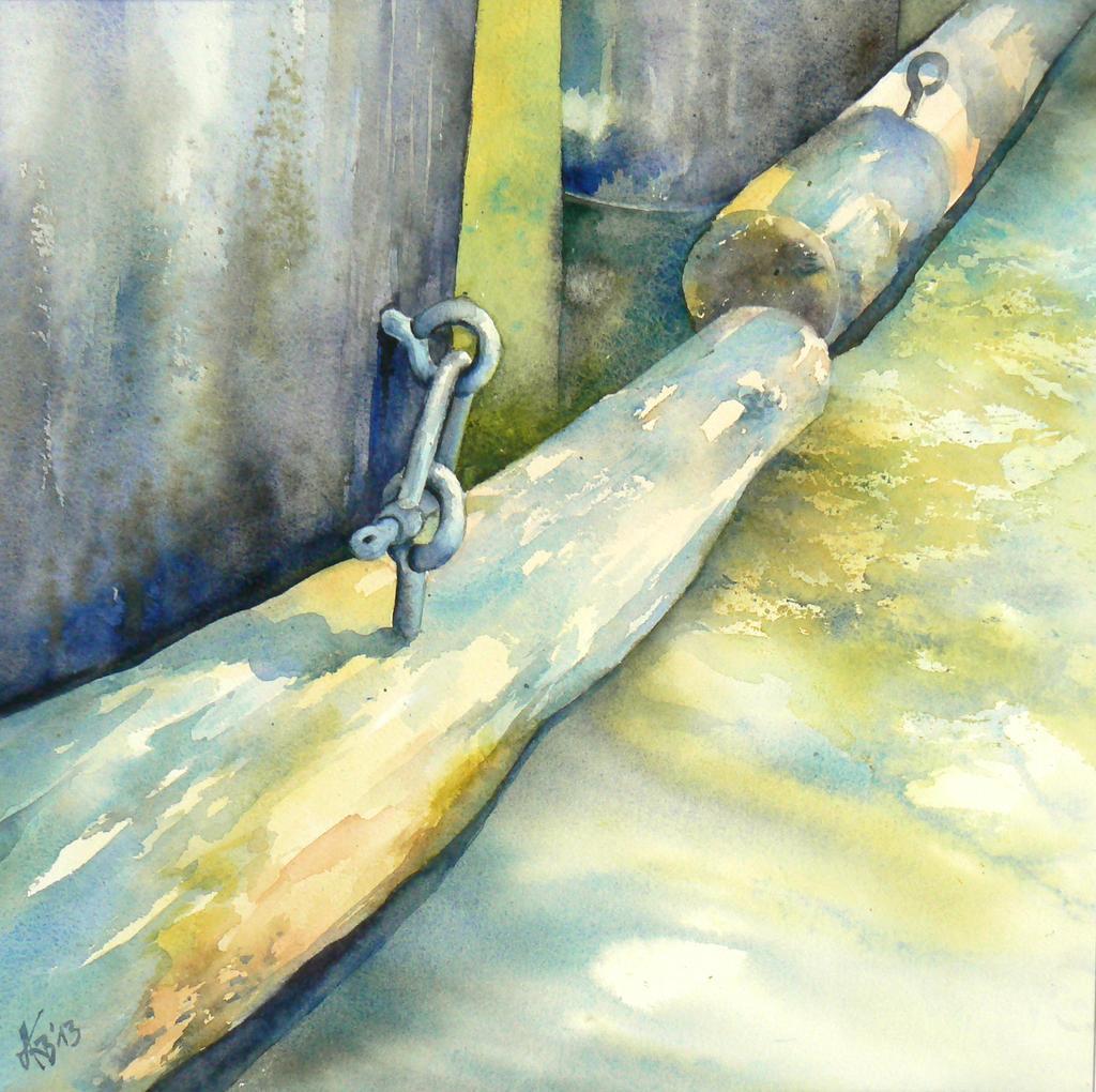 Water gate (element) by mashami