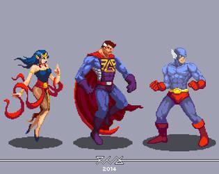 Indonesian Superhero the Golden Age