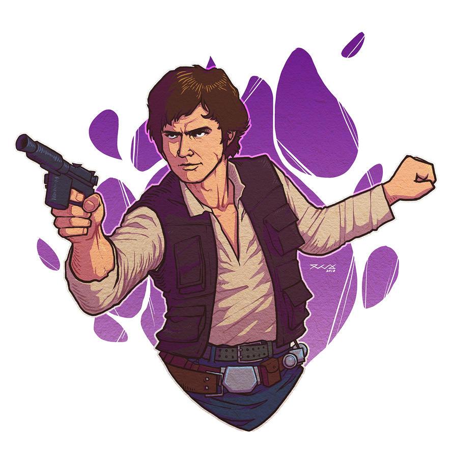 Han Solo by snowkie