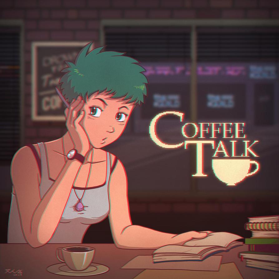 Freya - Coffee Talk by snowkie