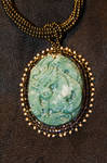 Earthy Jade Dragon Detail