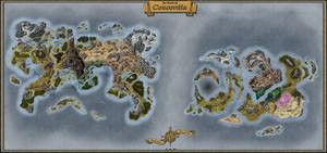 World Map - Concordia - Barriers