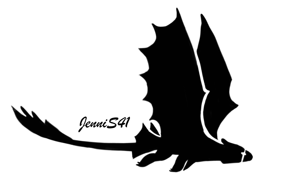 Toothless stencil by jenni on deviantart