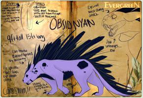 Obsidnyan by Wyverndemon
