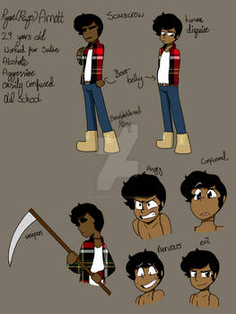 Rags Minor Reference Sheet