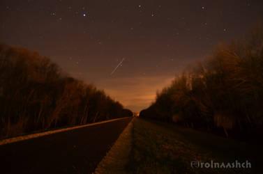 Into the dark night #2 by Rolnaashch