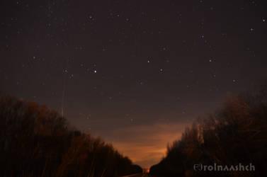 Into the dark night #4 by Rolnaashch