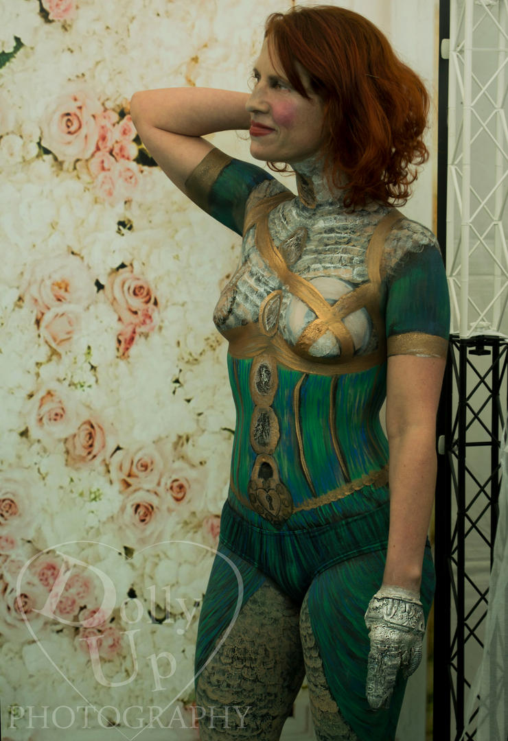 Steampunk Lady -NZ Cup Day 2016 -Body Paint by DollyHainesworth