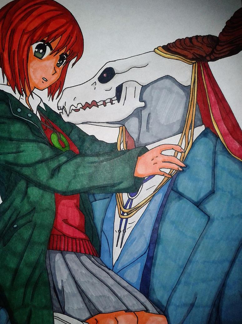 Chise and Elias by FallenAngelInaYasha