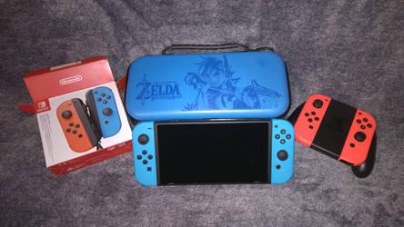 Meine Switch mit den neuen JoyCons