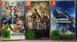 My new Switch-Games :D