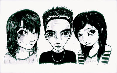 The Trio by analogmouse