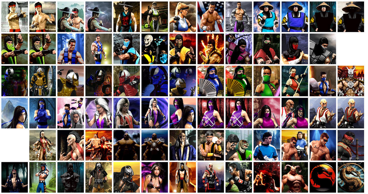All mortal kombat characters and their pictures The Greatest Mortal Kombat Characters Ever, Ranked
