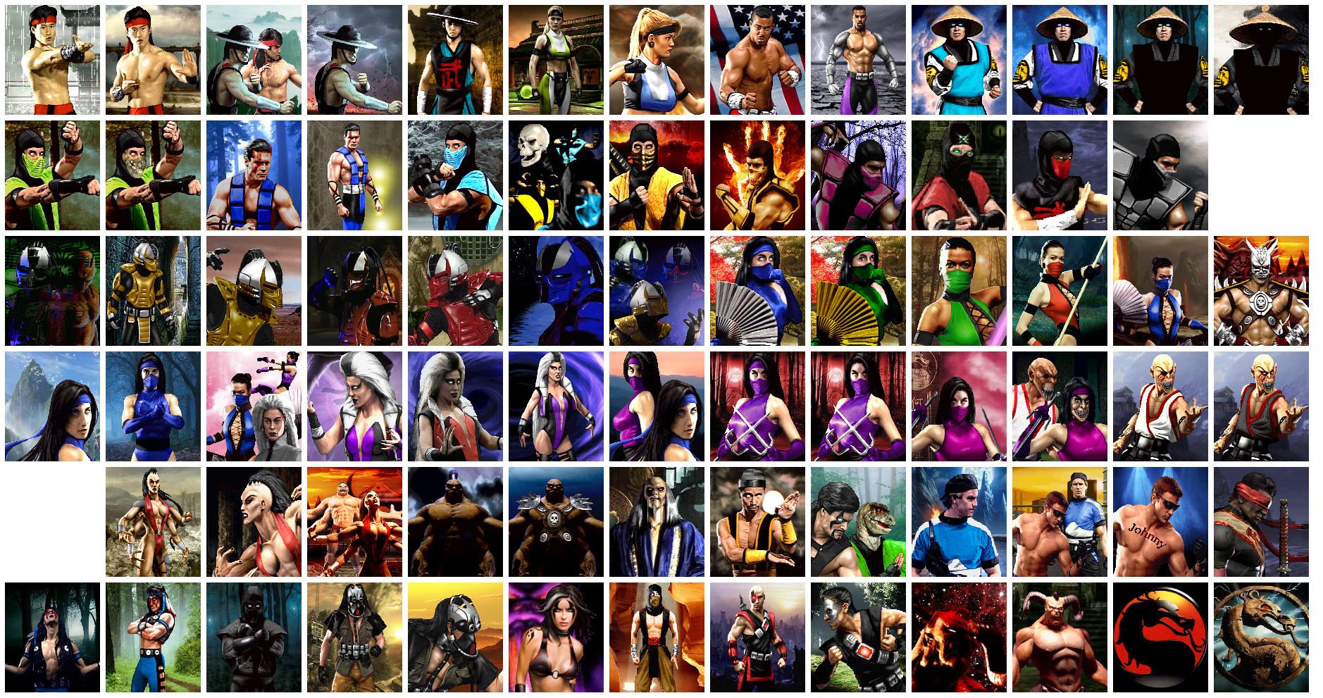 Mortal Kombat Characters by Kakarotho on DeviantArt