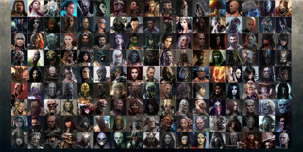 Mortal Kombat 11 Character Select Screen by Kakarotho on DeviantArt