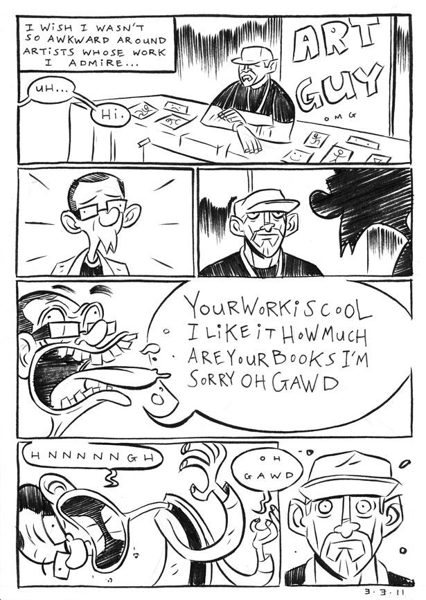 Daily Comic 114: Con by nellucnhoj