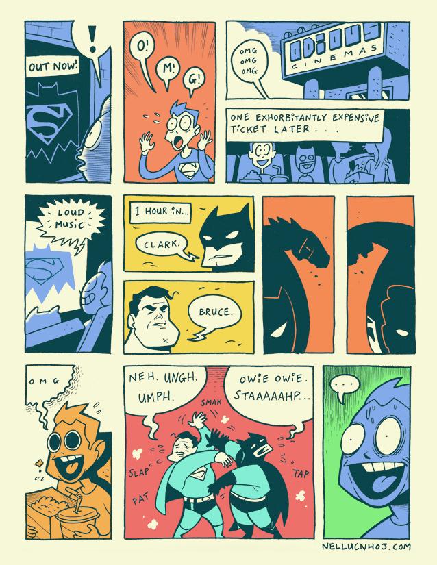 Daily Comic 131 by nellucnhoj