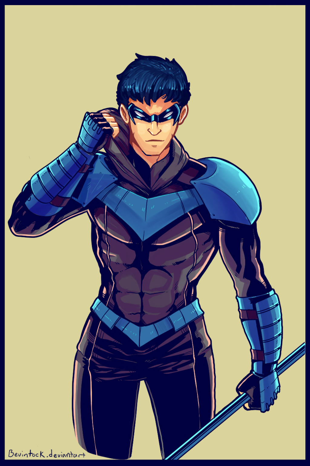 Nightwing Costume Rede...