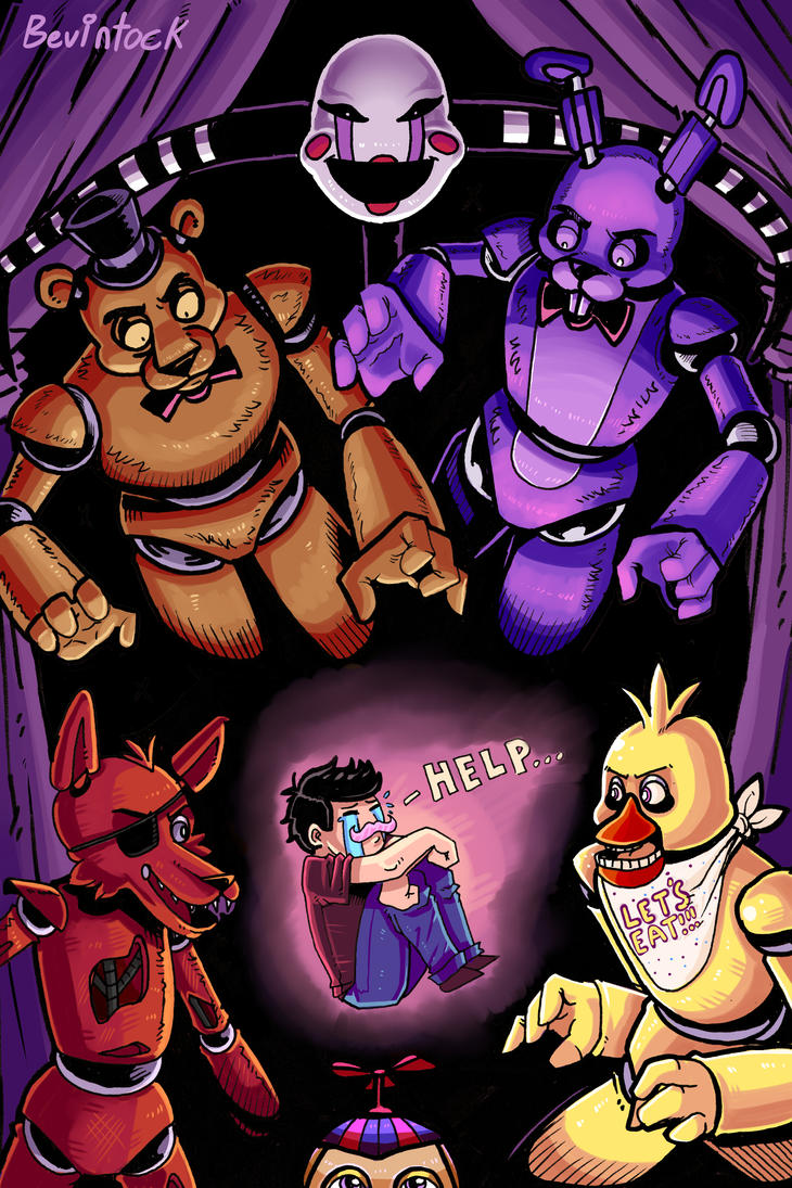 Markiplier's Five Nights of Fear! by Bevintock on DeviantArt Markiplier Fnaf