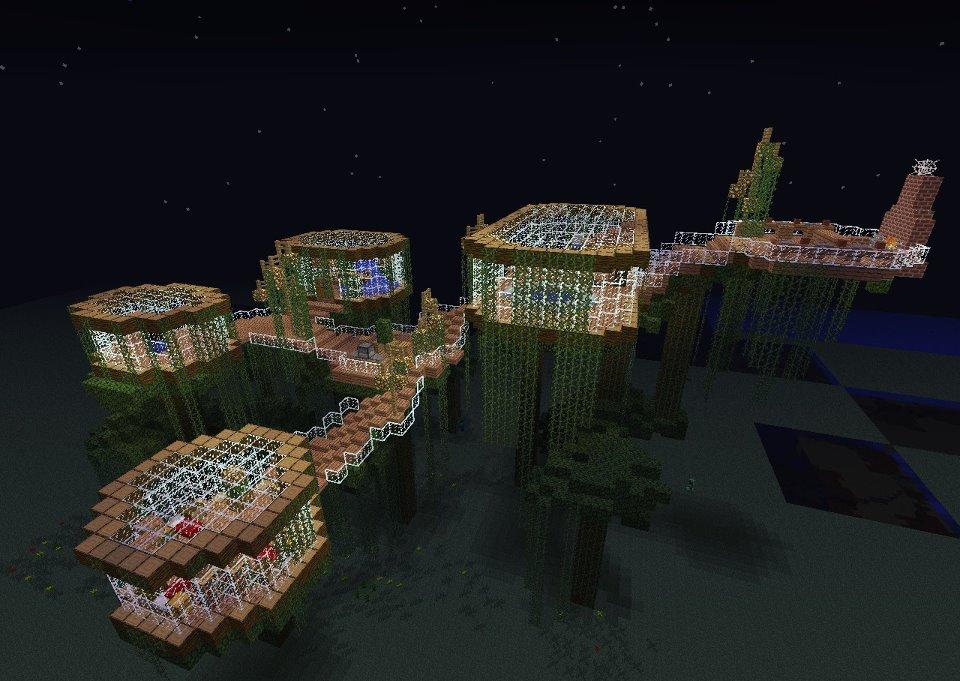 Minecraft Tree House By SlySy17 On DeviantArt